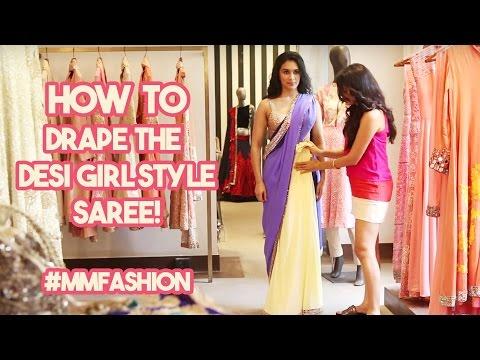 Here's How To Tie Priyanka Chopra's Desi Girl Sari