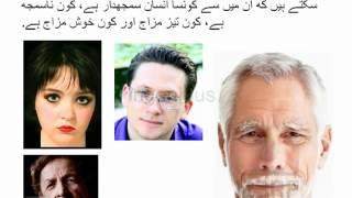 Face reading in Urdu