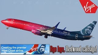 Redwood disappears after Alaska & Virgin America merge!