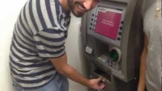 Pulling Out $800 Dollars From ATM - TeleWealth.com