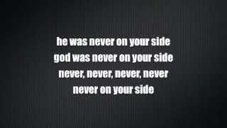 Motörhead - God Was Never On Your Side (Lyrics)