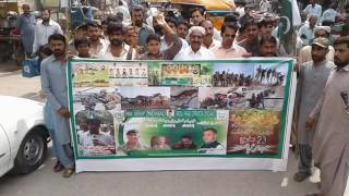 23 march rally ghotki videos