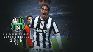 Alessandro Matri • Best goals e skills • Welcome to U.S. Sassuolo • 2016 HD