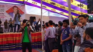 mon pajor by kazi shuvo. live at bhola govt college