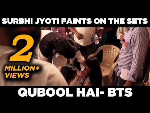 Qubool Hai   Surbhi Jyoti faints on the sets   April Fools prank   Behind the scenes