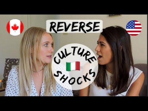REVERSE CULTURE SHOCKS NORTH AMERICA VS ITALY