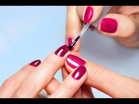 Trucos para secar las uñas rapido