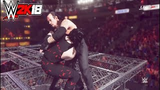 WWE-2K18-The Undertaker vs. Kane- Hell In A Cell Match-Hell In A Cell 2017