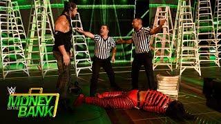 Baron Corbin ambushes Shinsuke Nakamura during his entrance: WWE Money in the Bank 2017