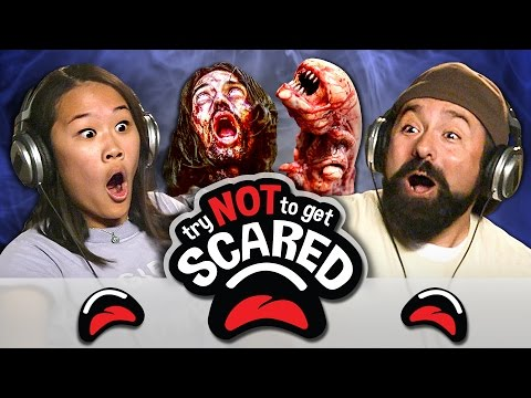 TRY NOT TO GET SCARED CHALLENGE (REACT)