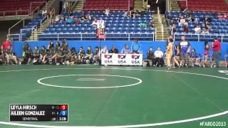117 Semifinal - Aileen Gonzalez (New York 2) vs. Leyla Hirsch (New Jersey)