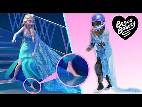 Xxx Mp4 I Tried Running On Ice In Heels Like Elsa In Frozen 3gp Sex