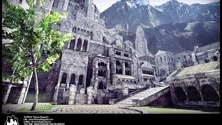 Minas Tirith: in UDK by TihomirVFX