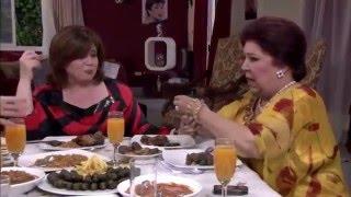 """نونة المأذونة - شاهد ماذا تفعل الفنانة إلهام شاهين مع الفنانة رجاء الجداوي """" يااختى دمك شربات"""""""