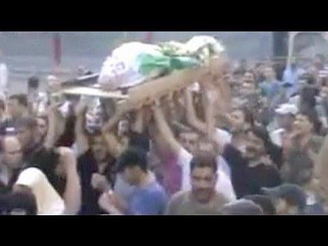 Un vídeo muestra el atentado contra los asistentes a un funeral en Siria