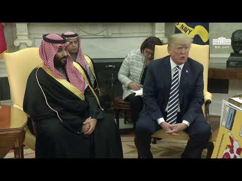 Xxx Mp4 President Trump Meets With Crown Prince Mohammad Bin Salman Of The Kingdom Of Saudi Arabia 3gp Sex
