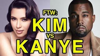 For The Win: Kim Kardashian vs Kanye West