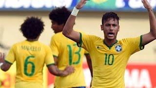 Brazil Vs Panama (4-0) All Goals & Highlights |HD| - Friendly Match 03/06/2014