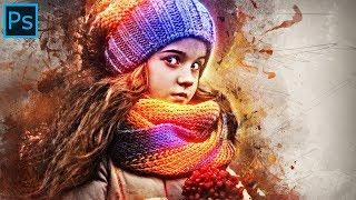 Grunge Effect Photoshop | Photoshop CC+, CS4, CS5, CS6 | Free Action Download