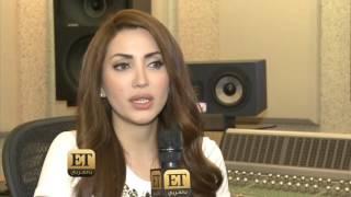 """ET بالعربي – نسرين طافش تسجيل """"بحبك كلك سوا"""" باستديو هادي شرارة"""