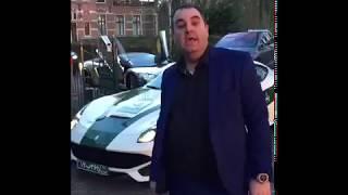 کلکسیون ماشینهای میلیونر ایرانی مقیم هلند در یک سکانس!