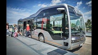 تكنولوجيا السيارات الحديثة  على الطرق في المانيا من شركة مرسيدس