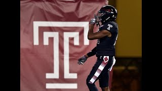 2018 American Football Highlights - Temple 31, Tulsa 17