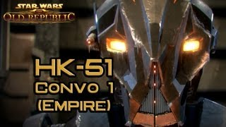 SWTOR: Empire HK-51 Story part 1: A Humble Servant (version 4)