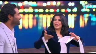 """اضحك مع لعبة « حرك بوقك وأنا بغني » مع أحمد وكريم فهمي في تحدي """"معكم منى الشاذلي"""""""
