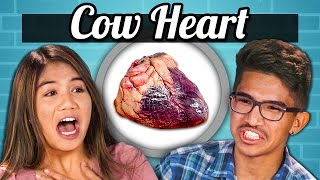 TEENS vs. FOOD - COW HEARTS