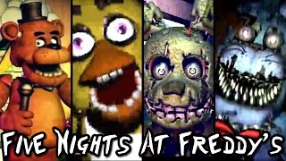 Five Nights at Freddy's ALL TRAILERS & Teaser Images (1 to 4)