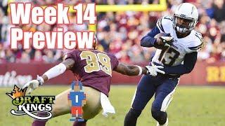 NFL Week 14 Preview & Picks - DraftKings