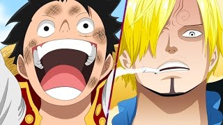 Luffy Vs Sanji! One Piece 843 ワンピース Manga Chapter Review/Reaction -- Water 7 Part 2