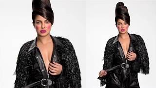 Priyanka Chopra Flashing Assets At Paper Magazine Photoshoot 2017