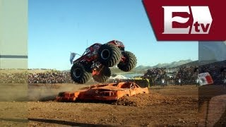 Monster Truck: Nuevas imágenes del fatal accidente en Chihuahua (VIDEO) / Monster Truck accident