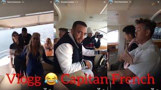 French Montana Vlogg 1 Yacht Party ! Australia FUNNY