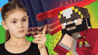 Super Bossy Girl Trolled on Minecraft (Minecraft Trolling & Griefing)