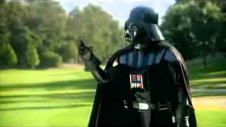 Funny Darth Vader Golf Commercial