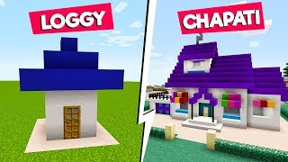 Minecraft NOOB vs PRO: BUILDING Oggy And The Cockroaches House