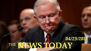 U.S. Attorney General Tiptoes Around Russia Probe At Hearing   News Today   04/26/2018   Donald...