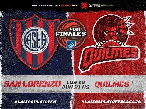 Liga Nacional: San Lorenzo vs. Quilmes | #LaLigaEnTyC