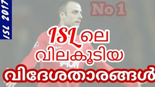 Hero Indian super league Most Valuable Players 2017 season |Malayalam |