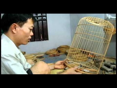 Làng nghề lồng chim Canh Hoạch làng Vác Thanh Oai Hà Nội