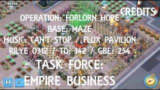 Maze Rush - Empire Business - Boom Beach