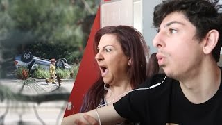 WE WITNESSED A TERRIFYING CAR ACCIDENT.. (CAUGHT ON CAMERA)