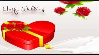 Best wishes for wedding, SMS, Text message, Whatsapp video