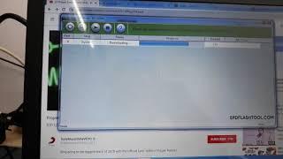 How to flash infocush m500 100%done