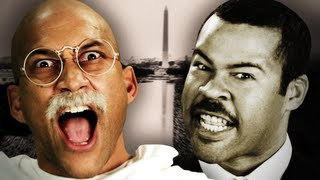 Gandhi vs Martin Luther King Jr. Epic Rap Battles of History. (Subtítulos en Español)