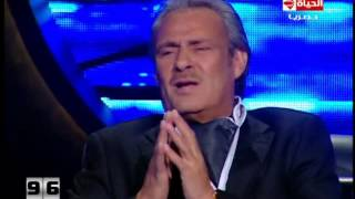 100 سؤال -  فاروق الفيشاوي يرد على عادل امام : مصر اكبر منك ومن افلامك !