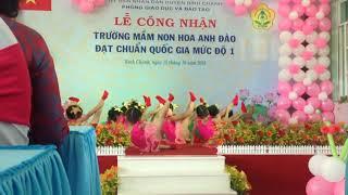 Bài aerobic Ước mơ tuổi thần tiên, bé Xíu và các bạn trường MN Hoa Anh Đào _ BC